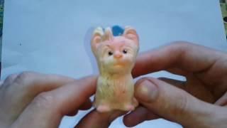 Видео: СОВЕТСКАЯ РЕЗИНОВАЯ БОЛОНКА - игрушка для детей