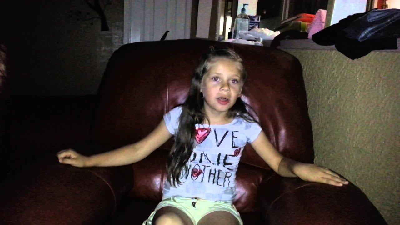 My Daughter Estefana Singing Tiny Tim Turtle Song Youtube