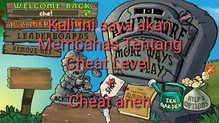 Gambar cover CARA HACK LEVEL PLANST VS ZOMBIE (LEVEL+ANEH)