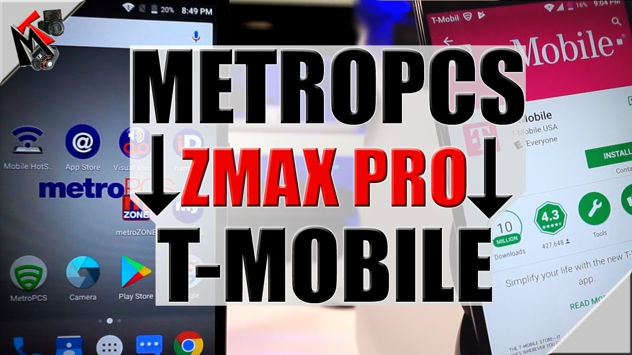 ZTE Zmax Pro Z981 - Switching from MetroPCS to T-Mobile