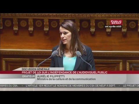 Projet de loi organique relatifs à l'indépendance de l'audiovisuel public - SEANCE (01/10/2013)