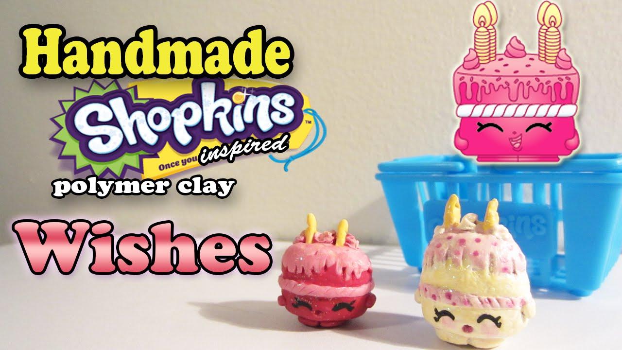 Season 1 Shopkins: How To Make Wishes Polymer Clay Tutorial! - YouTube