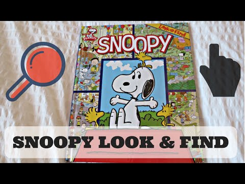 ABC123: Snoopy Look & Find Book (Where's Waldo)