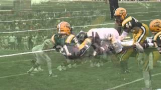 Tech Football vs. Harding Highlights 11/14/15