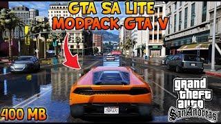 GRAFIKNYA GILA COY!! GTA SA LITE MODPACK GTA V   APK + DATA   SUPPORT ALL OS ANDROID
