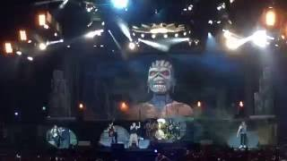 Download Festival 2016 Iron Maiden with Eddie during Book of souls & Iron Maiden