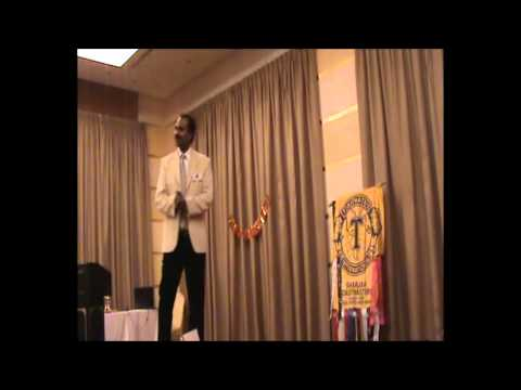 Humourous Speech Contest - Sharjah Toastmasters - December 2011