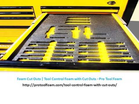 Tool Foam | Toolbox Foam | Tool Control Foam | Custom Tool Box ...