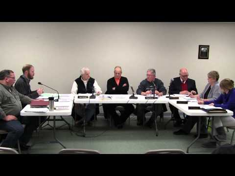 January 12, 2015, Village of Goodrich Council Meeting