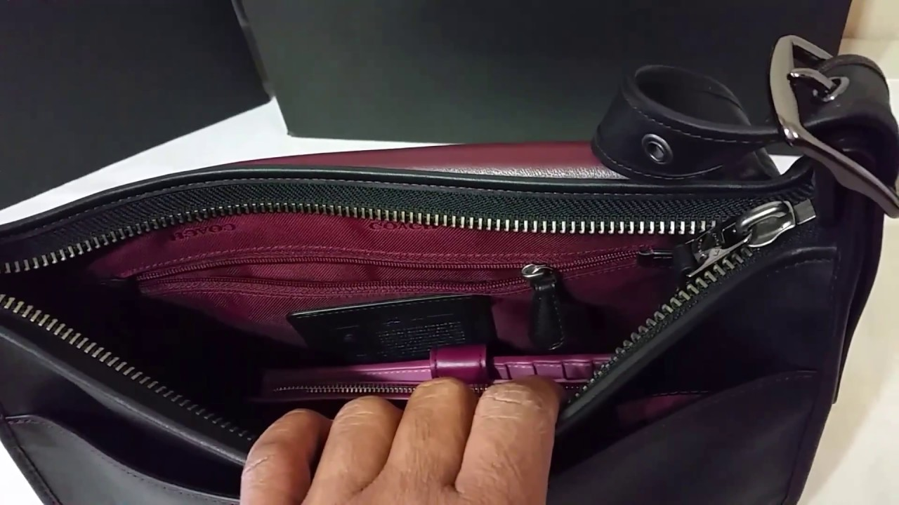 d2308921018d Coach Saddle Bag in Glovetanned Leather - YouTube