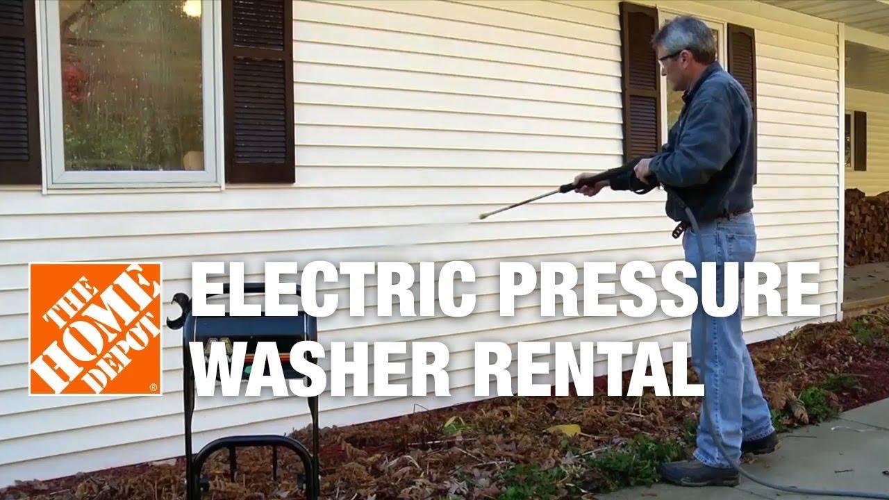 Mi T M Electric Pressure Washer Rental Youtube