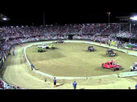 Utah County Fair 2013 Demolition Derby Truck Heat