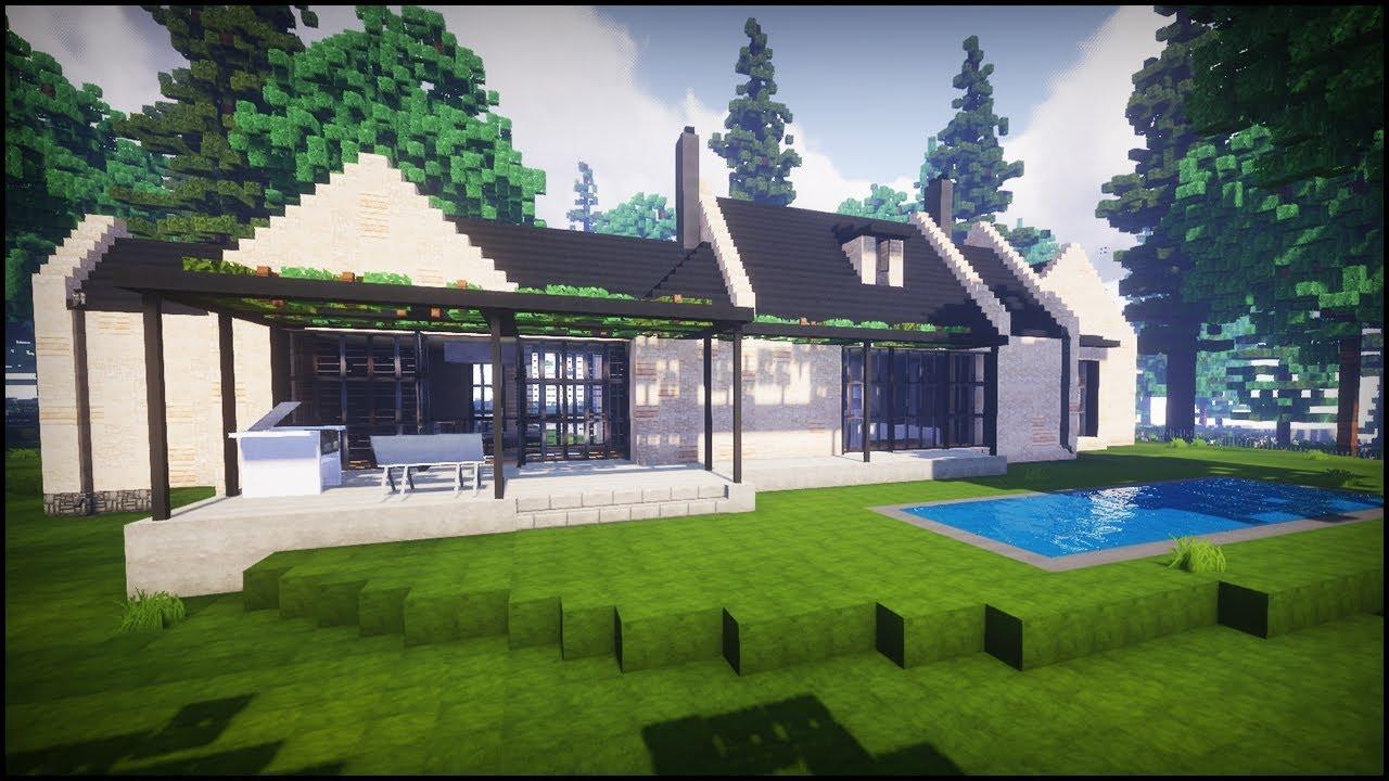 Minecraft: Amazing Modern Villa House