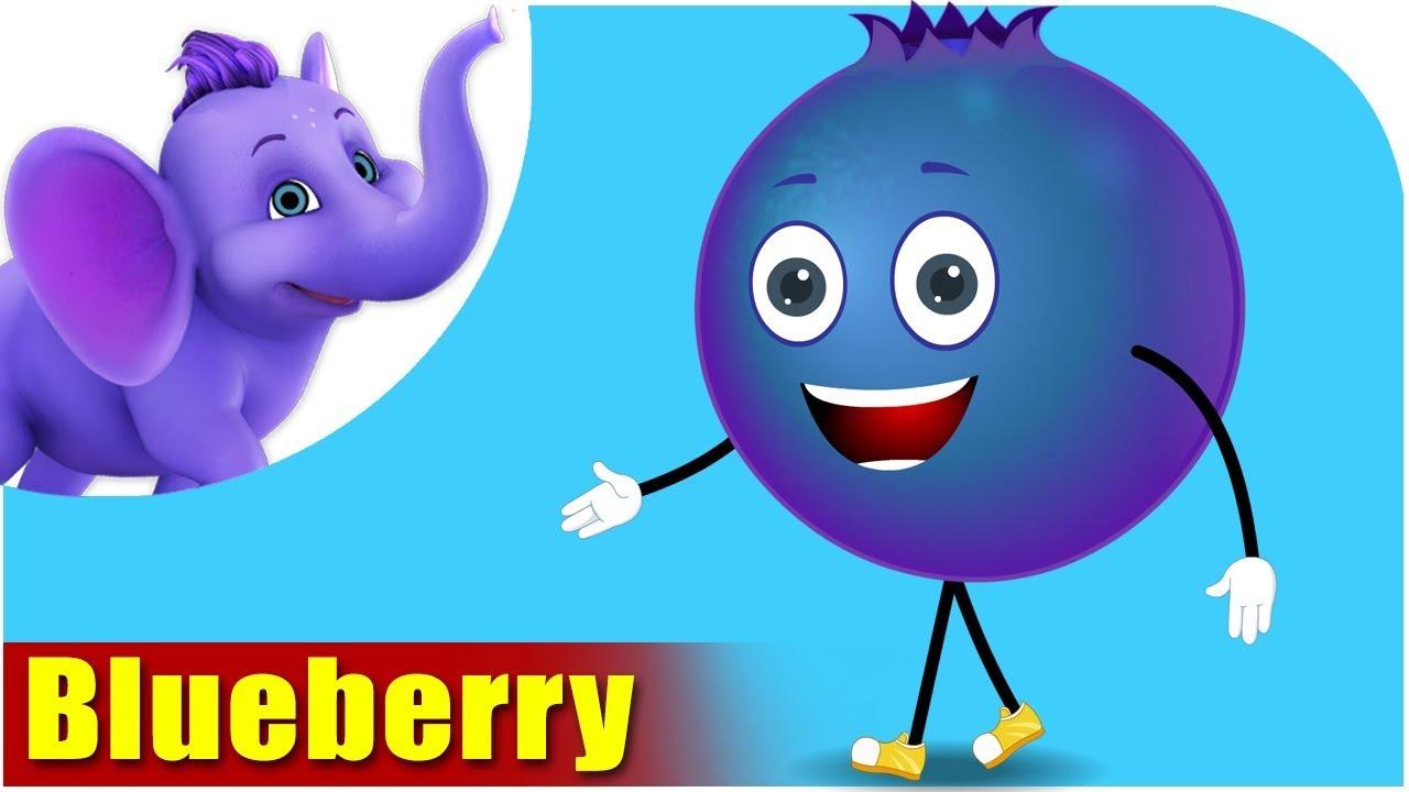 Blueberry - Fruit Rhyme in Ultra HD (4K)
