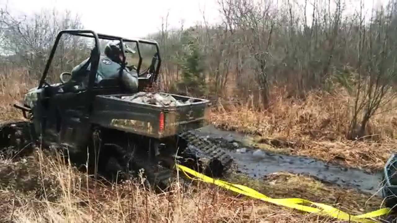 Tracks Vs Tires On A Polaris Ranger Youtube