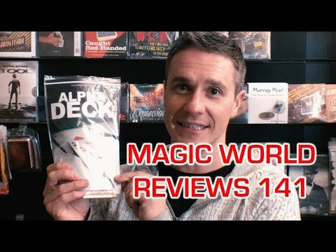 MAGICWORLD REVIEWS ALPHA DECK BY RICHARD SANDERS & HOLE IN ONE SANSMINDS