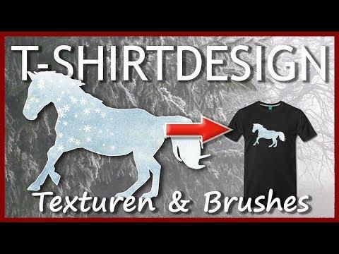 T-SHIRTDESIGN-KURS: Eigene Hintergrund-Texturen und Schneeflocken-Brushes in Photoshop #JaJoFo thumbnail