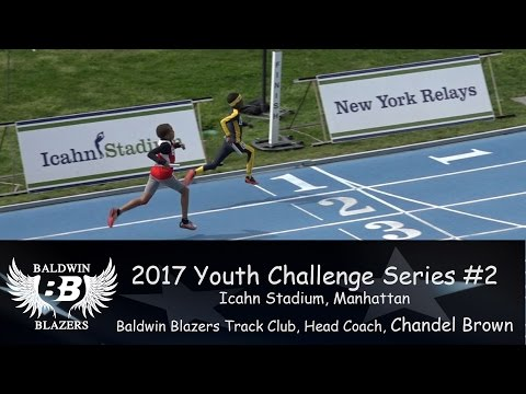 Baldwin Blazers @ 2017 Youth Challenge Series #2 @ Icahn Stadium