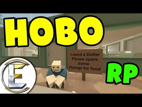 HOBO | A homeless mans story (Unturned Undercover Hobo Roleplay)