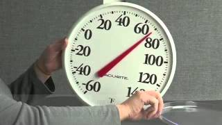 How To Calibrate an AcuRite Coil Thermometer