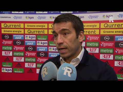 'Gio' over Feyenoord-Heracles: 'Heel moeizame wedstrijd'