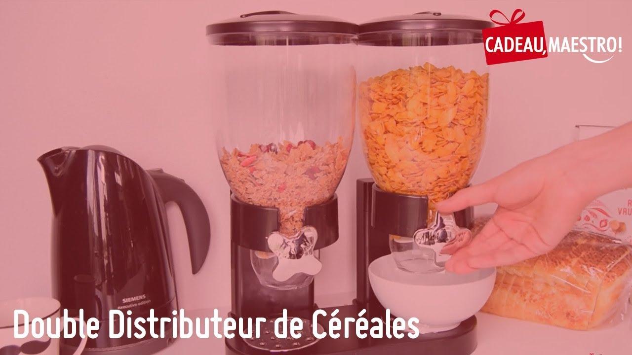 Céréales De Cadeau Double Distributeur Maestro fyb7Y6gv