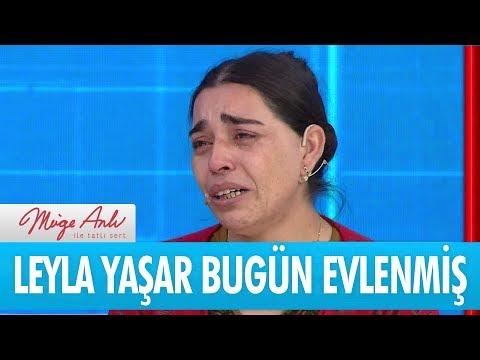 Leyla Yaşar bugün evlenmiş - Müge Anlı İle Tatlı Sert 1 Şubat 2018