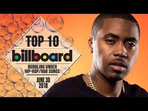 Top 10 • US Bubbling Under Hip-Hop/R&B Songs • June 30, 2018 | Billboard-Charts
