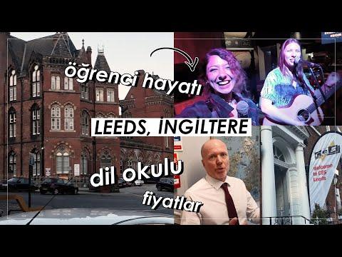 İngiltere'nin Ucuz Öğrenci Şehri Leeds'te Dil Okuluna Gitmek! 🤓 | Leeds Vlogu #dilokullarıturu
