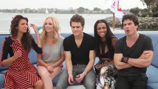 vuclip The Vampire Diaries Cast Funny&Cute Moments