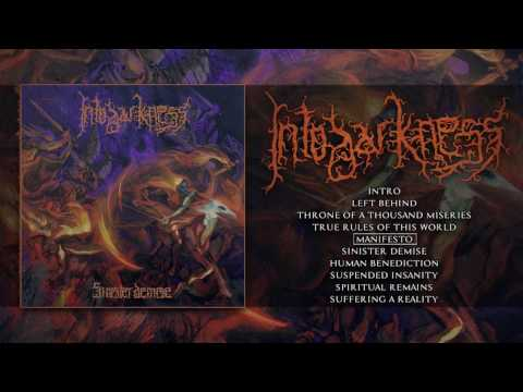 INTO DARKNESS - SINISTER DEMISE (OFFICIAL ALBUM STREAM) [RISING NEMESIS RECORDS]
