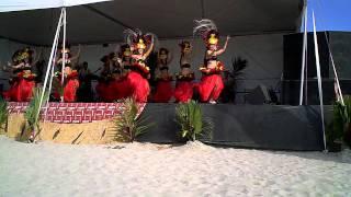 Tahitian Dance At The Long Beach Polynesian Festival