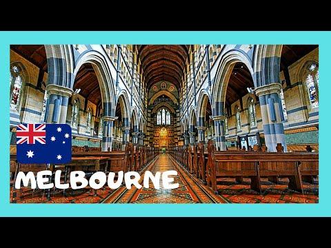 MELBOURNE, inside historic ST. PAUL'S CATHEDRAL (AUSTRALIA)