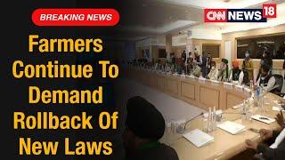 Farmers Refuse To Relent, Demand Rollback Of Farm Laws   CNN News18