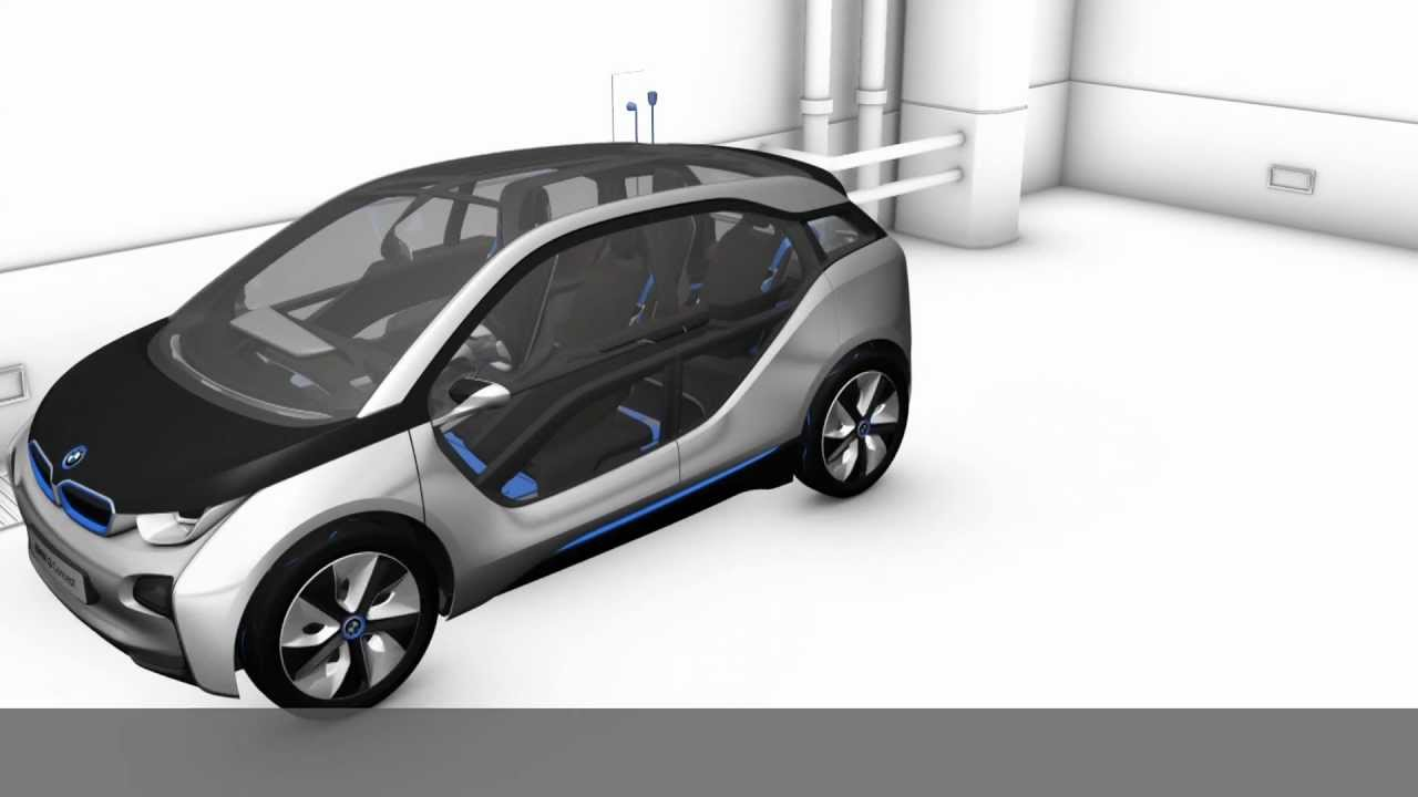 Bmw I3 Concept Driving