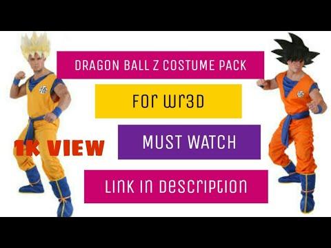 DRAGON BALL Z COSTUME PACK FOR WRESTLING REVOLUTION(WR3D)