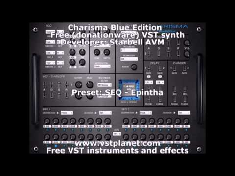 Charisma Blue Edition - Free (donationware) VST synth - vstplanet.com