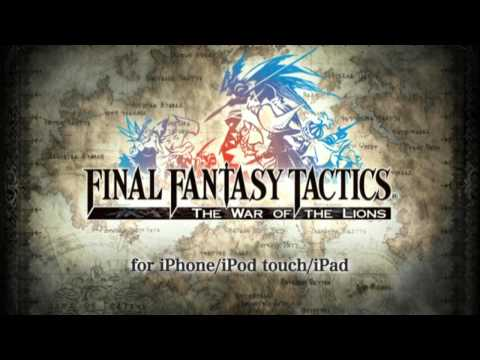 FINAL FANTASY TACTICS: The War of the Lions (for iPhone) Launch Trailer