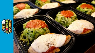 How to Meal Prep - Ep. 15 - CHICKEN PARMESAN & ZOODLES