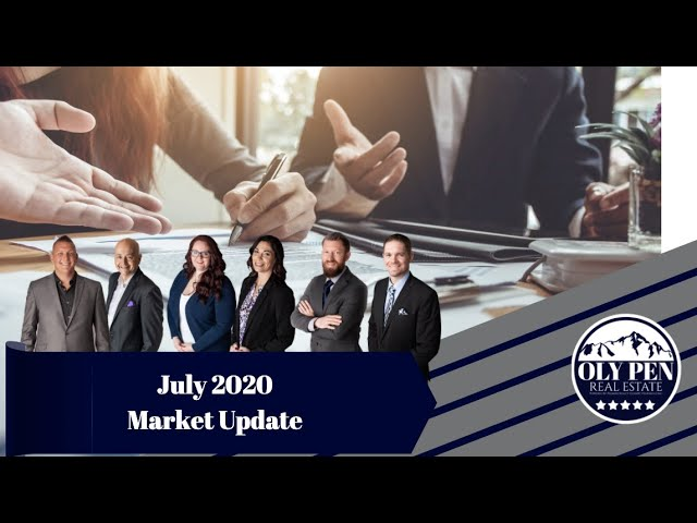 Oly Pen Real Estate | Monthly Market Update | July 2020