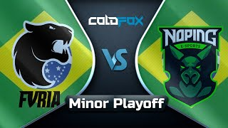[PT-BR][Minor] Fúria vs NoPing - DOTA Summit 11 SA