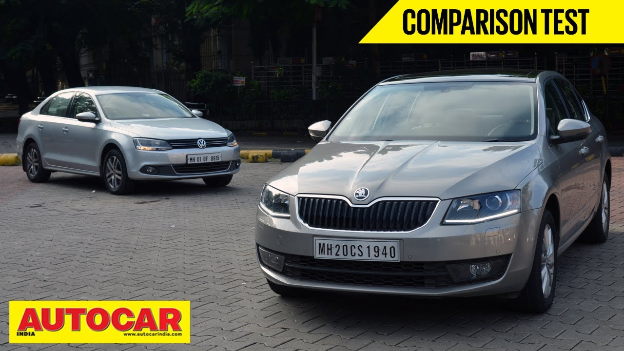 2013 Skoda Octavia Vs Volkswagen Jetta Comparison Test