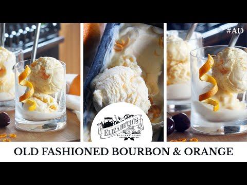 Old Fashioned Bourbon and ANGOSTURA® Orange Bitters Ice Cream Recipe