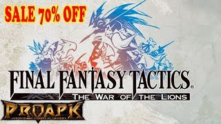 Final Fantasy Tactics Android Gameplay ( SALE 70% OFF)