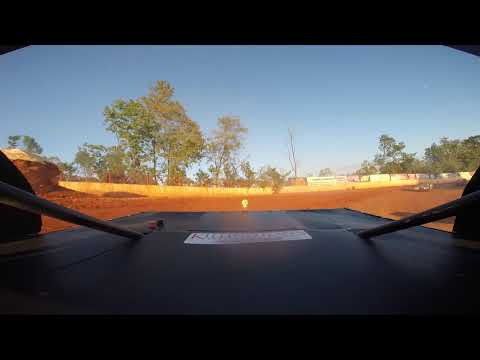 East Lincoln Speedway 9-7-19 Stock 4 Rear Cam Heat Race Alexus Motes