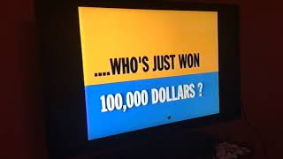 Game Show Network (1999-2004 era, Daytime) The $100,000 Pyramid with Dick Clark promo (2000's)