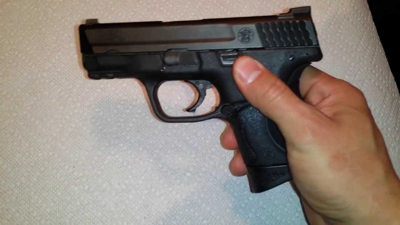 S Amp W M Amp P 9mm Compact Youtube