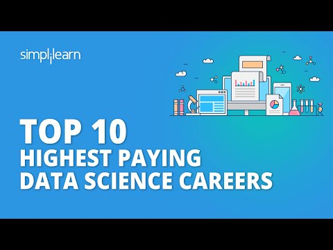 Top 10 Highest Paying Data Science Careers In 2020   Data Science Jobs   Data Science   Simplilearn