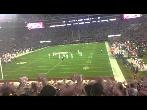Alabama 2014 Iron Bowl (The Last) Dixieland Delight/Student Section