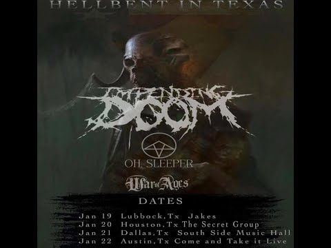 Impending Doom tour w/ Bury Your Dead/Oh Sleeper and War of Ages dates posted
